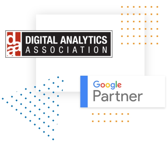 Digital Analytics Association Member and Google Partner Badge