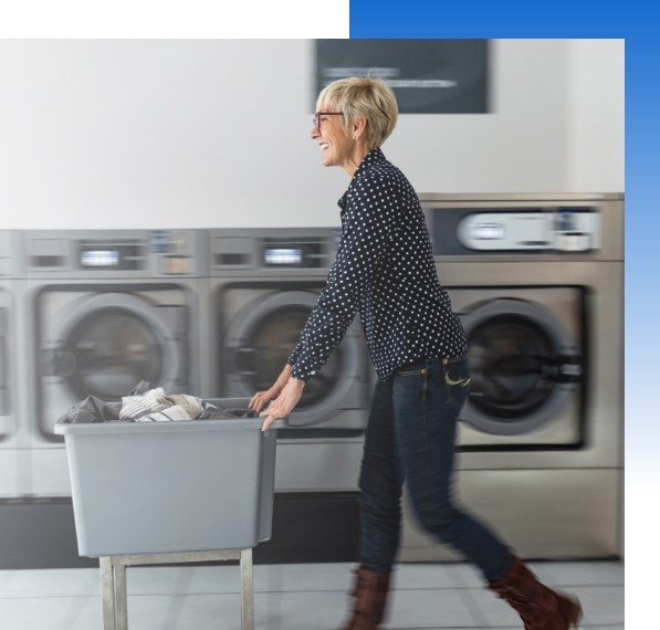 Laundromat working with propage
