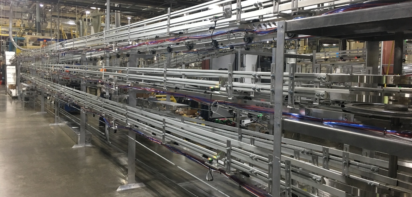 Custom Metal Designs conveyors help you save money and time
