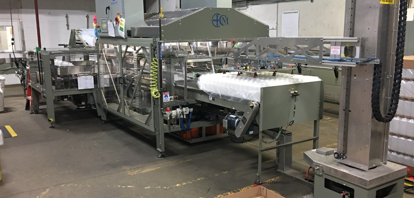 Sheet Film Auto Bagger from Custom Metal Designs