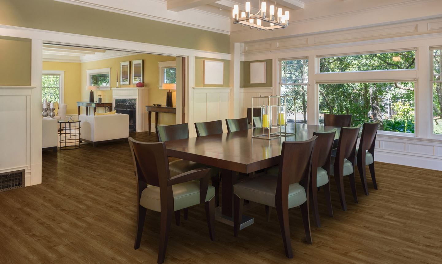 Image of a home dinning room