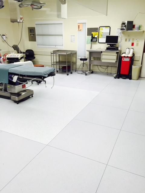 Flooring in Medical Office