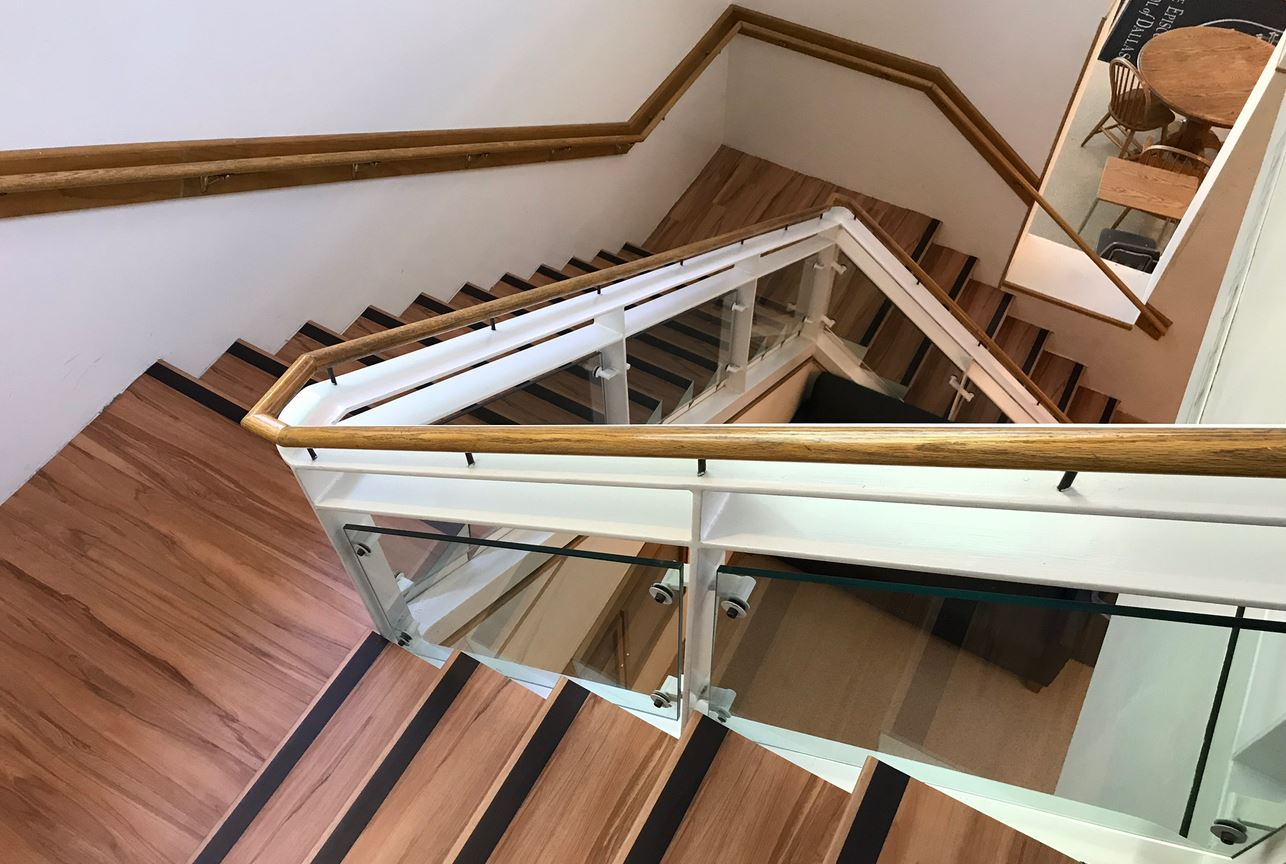 Image of commercial stair case