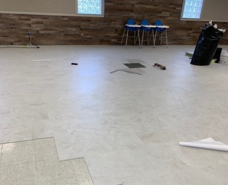 Seta grip englewood church flooring