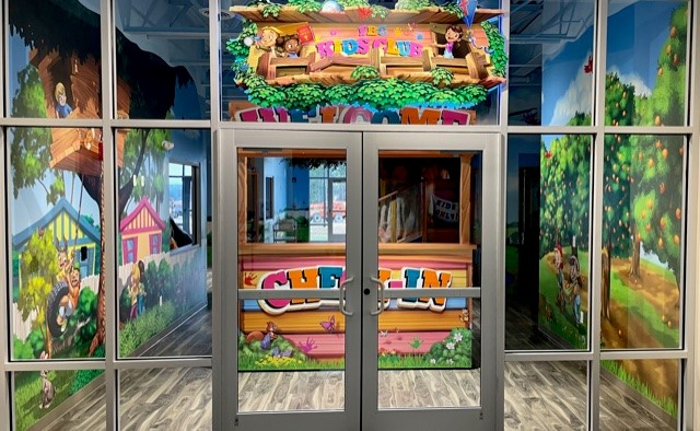 Image of entrance to kids zone
