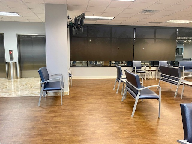 waiting room of healthcare facility
