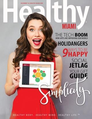 Healthy Magazine cover