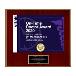 On Time Doctor Award 2020