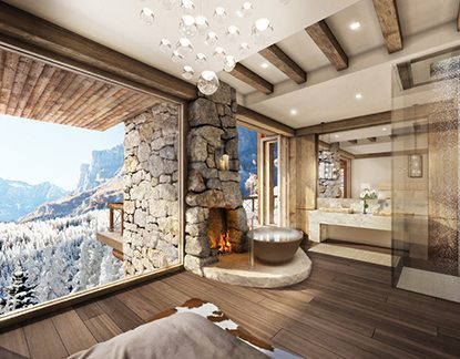 Marc-Michaels Rustic Design Switzerland Bath