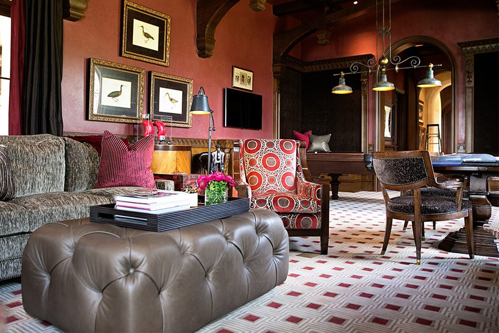 Timeless Traditional Club Room