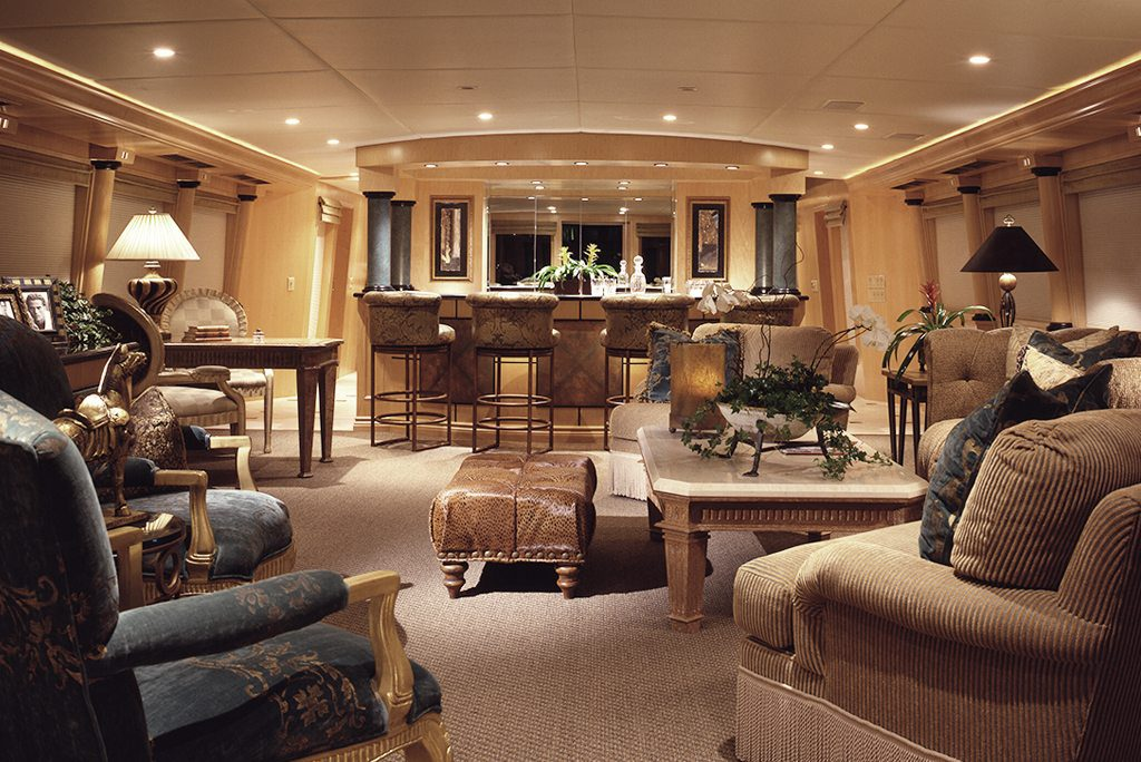 yacht design living room