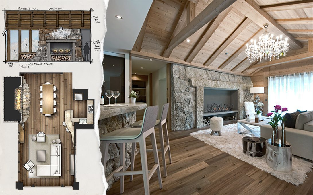 Concept to Completion Interior Detailing Vacation Resort