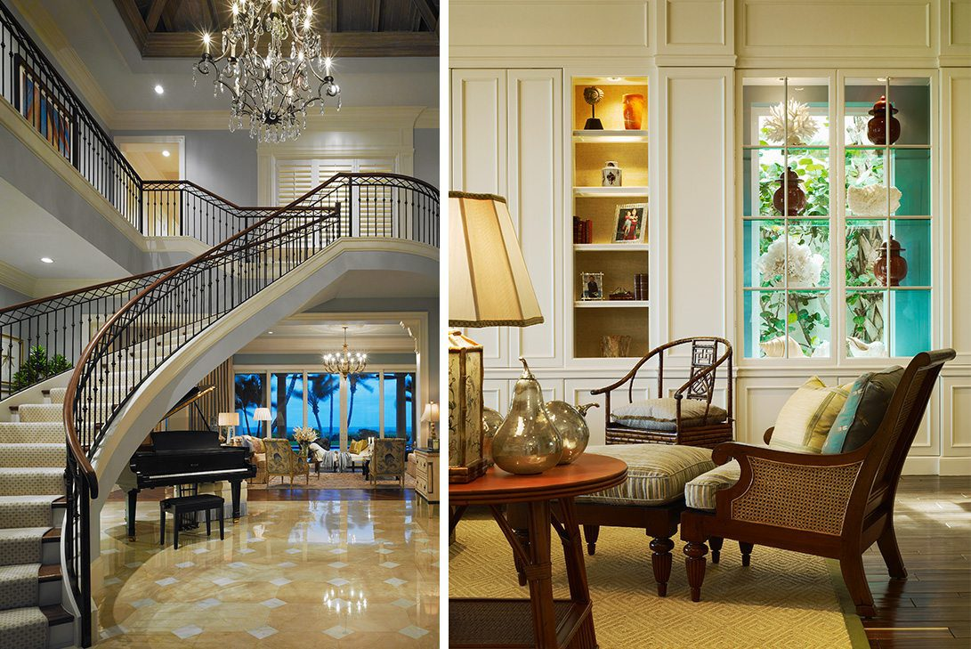 Traditional Design Foyer Images in Palm Beach