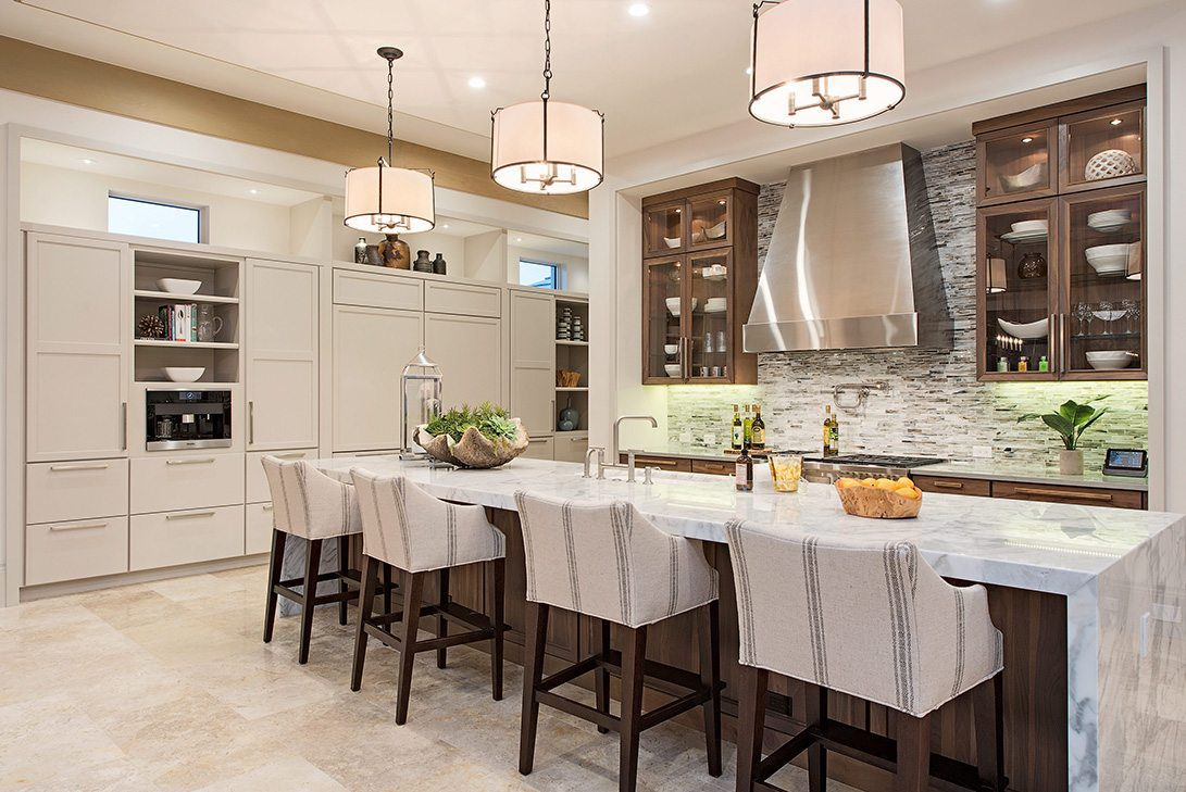 Modern Rustication Design Neapolitan Model Kitchen