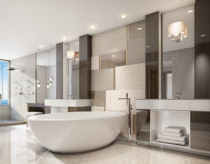 Marc-Michaels Commercial Design Bathroom