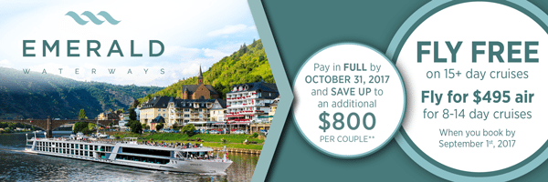 All-inclusive river cruise vacation -Travel Planners International