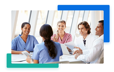 Clermont Urgent Care Doctor Team Meeting